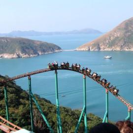 Гонконг: Оушен парк