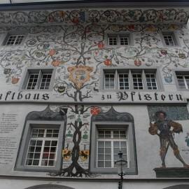 Швейцария: Фасады