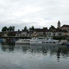 Швейцария: Город у озера