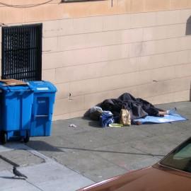 Сан-Франциско: Лежим