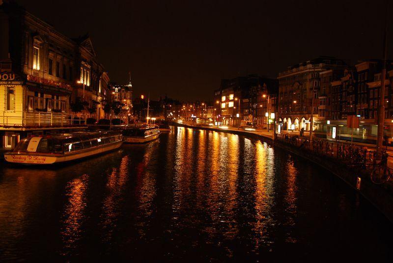 каналы в Голландии