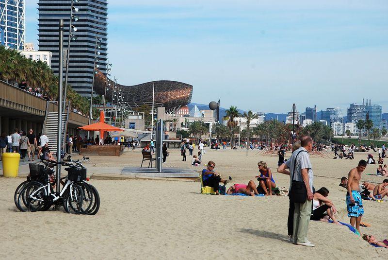 Барселона пляжи фото