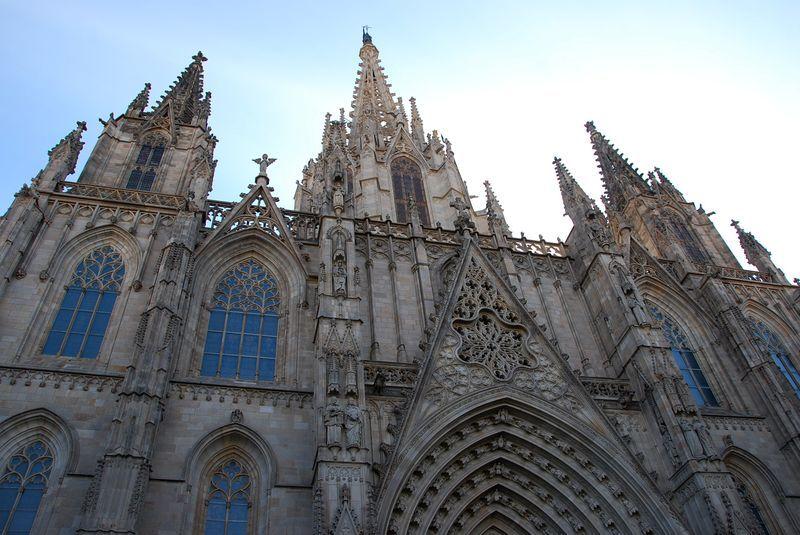 Барселона готический квартал фото