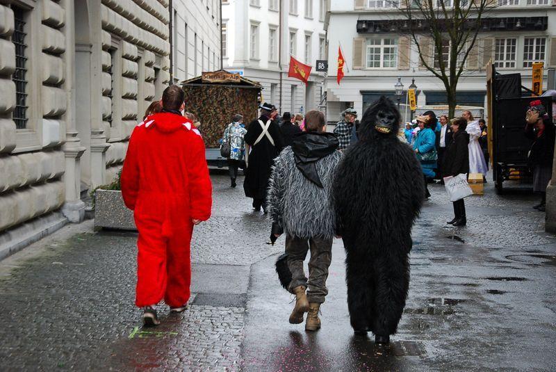 Швейцария карнавал