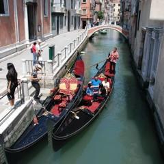 Венеция: Гондолы
