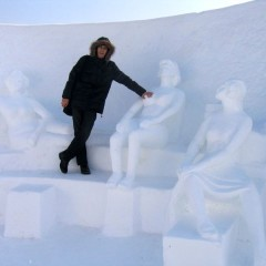 Китай: Снег и лёд