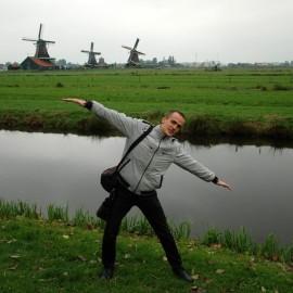 Мельницы в Голландии